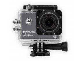 Silverlabel Focus Action Camera 1080P in case