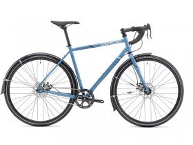 Genesis Day One 10 2018 Single Speed Road Bike in Blue