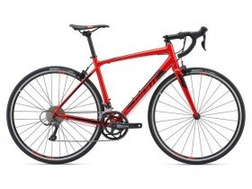 Giant Contend 2 2019 Road Bike in Metallic Black and Pure Red