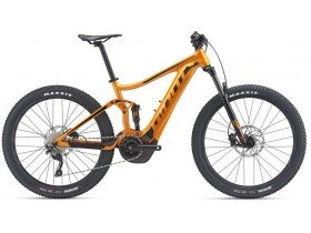 Giant Stance E+ 1 2019 Electric Bike in Orange