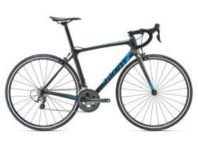 Giant TCR Advanced 3 2019 Road Bike in Carbon and Metallic Blue