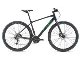 Giant Toughroad SLR 2 2019 Gravel Bike in Satin Gun Metal Black, Satin Black and Satin Flash Green