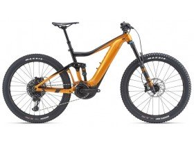 Giant Trance E+ 1 Pro 2019 Electric Bike in Black and Orange