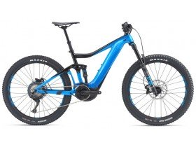 Giant Trance E+ 2 Pro 2019 Electric Bike in Black and Blue