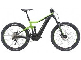 Giant Trance E+ 3 Pro 2019 Electric Bike in Green and Black