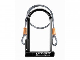 Kryptonite Keeper 12 STD U-Lock With 4 Foot Kryptoflex Cable