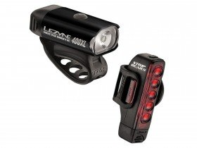 Lezyne Hecto 400XL/Strip 150 Light Set