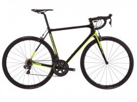 Ridley Helium X Ultegra 2018 Road Bike in Black and Lime
