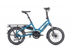 Tern HSD P9 2020 Electric Cargo Bike in Blue