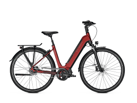 Kalkhoff Image 5.S Move 2020 (500Wh) Step Through E-Bike in Red