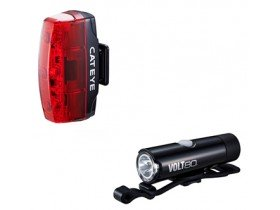 CatEye Volt 80 XC/ Rapid Micro Rechargeable Bike Light Set