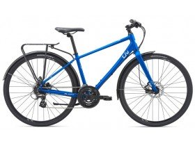 Liv Alight 2 City Disc 2019 Women's Hybrid Bike in Blue
