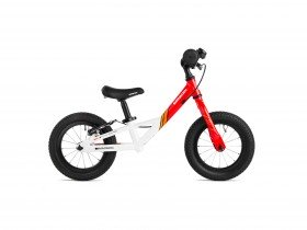 Saracen Freestyle Balance Bike in Saracen Madison Team Colours