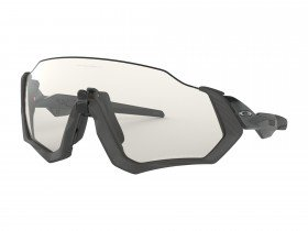 Oakley Flight Jacket Grey Ink Frame/Clear Black IRD Photo Activated Lens