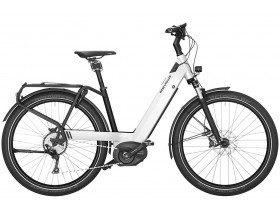 Riese & Muller Nevo GT Touring 2019 Electric Bike in White