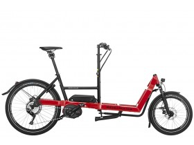 Riese & Muller Packster 40 Touring 2019 E-Cargo Bike in Red