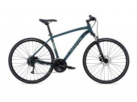 Whyte Women's Ridgeway 2019 Hybrid Bike in Matt Petrol and Ice Silver