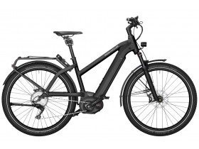 Riese & Muller Charger Mixte GT Touring 2019 Electric Bike in Black