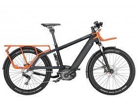 Riese & Muller Multicharger GX Touring 2019 Electric Bike in Black