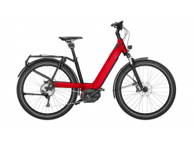 Riese & Muller Nevo GT Touring 2020 Electric Bike in Red
