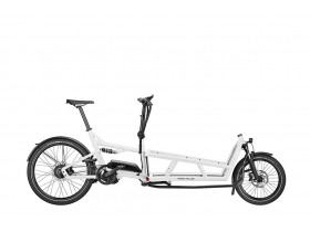 Riese & Muller Load 75 Rohloff 2020 Electric Cargo Bike in White