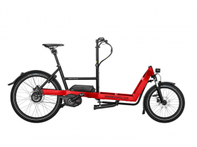 Riese & Muller Packster 40 Vario 2020 Electric Cargo Bike in Red