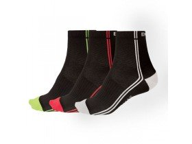 Endura Coolmax Stripe II Socks 3-Pack