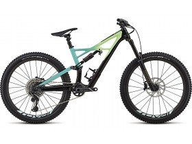 Specialized Enduro Pro 650b 2018 Trail Mountain Bike in Black and Hyper Colours