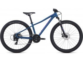 Specialized Pitch Women's 2019 Trail Mountain Bike in Marine Blue and Acid Fuchsia
