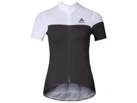 Odlo Women's Kamikaze Short Sleeve Full Zip Jersey