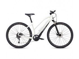 Specialized Women's Turbo Vado 2.0 2018 Electric Bike in Metallic White, Silver and Black