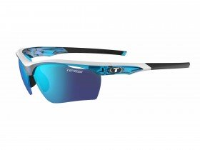 Tifosi Vero Interchange Skycloud Frame with Smoke/AC Red/Clear Lens