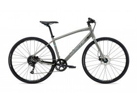 Whyte Whitechapel 2019 Hybrid Bike in Zinc, Grey and Blue