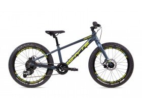 Whyte 203 2019 Kids Mountain Bike in Midnight Blue, Sky and Lime Green