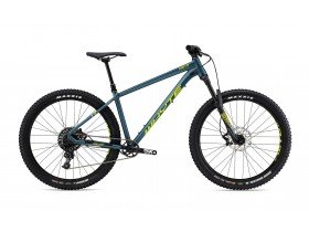 Whyte 901 2019 Hardtail Mountain Bike in Matt Petrol, Lime and Mist