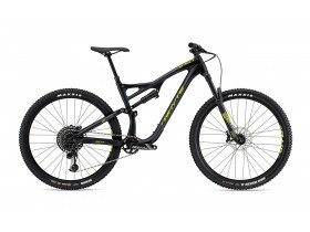 Whyte S-150C RS 2019 Trail Mountain Bike in Matt Granite with Lime and Olive