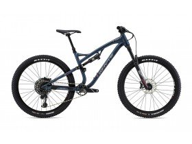 Whyte T-130 S 2019 Trail Mountain Bike in Midnight, Pewter and Dark Red
