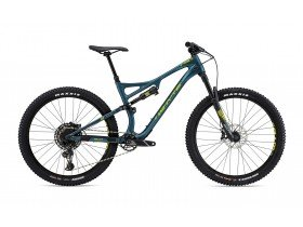 Whyte T-130C R 2019 Trail Mountain Bike in Petrol, Lime, Mist and Grey