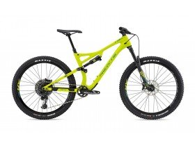 Whyte T-130C RS 2019 Trail Mountain Bike in Matt Lime with Eucalyptus and Olive