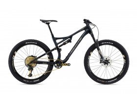 Whyte T-130C Works 2019 Trail Mountain Bike in Matt Granite with Silver and Grey