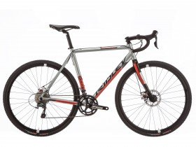 Ridley X-Bow Sora Disc 2018 Cyclocross Bike in Silver, Black and Red