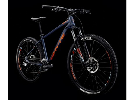 f79e075f087 Whyte 605 2019 Trail Hardtail Mountain Bike in Midnight Blue, Lime and  Olive Green