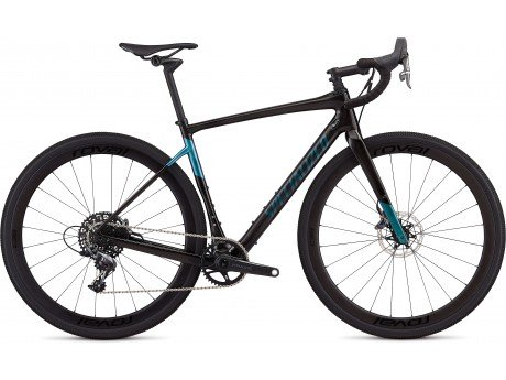 c93cfc1a622 Specialized Diverge Expert X1 2019 Adventure Road Bike in Gloss Carbon and  Oil Slick