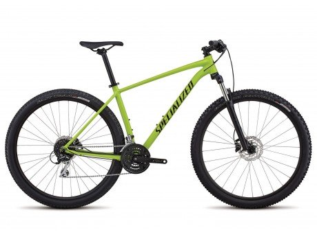 ae6777101a4 Specialized Rockhopper Sport 2018 Trail Mountain Bike in Green and Black