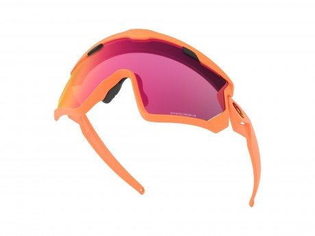 3b9b7873ea Oakley Wind Jacket 2.0 Matte Neon Orange Frame Prizm Road Lens
