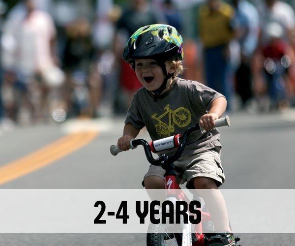 Bikes for 2-4 year olds