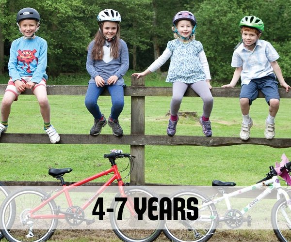 Bikes for 4-7 year olds